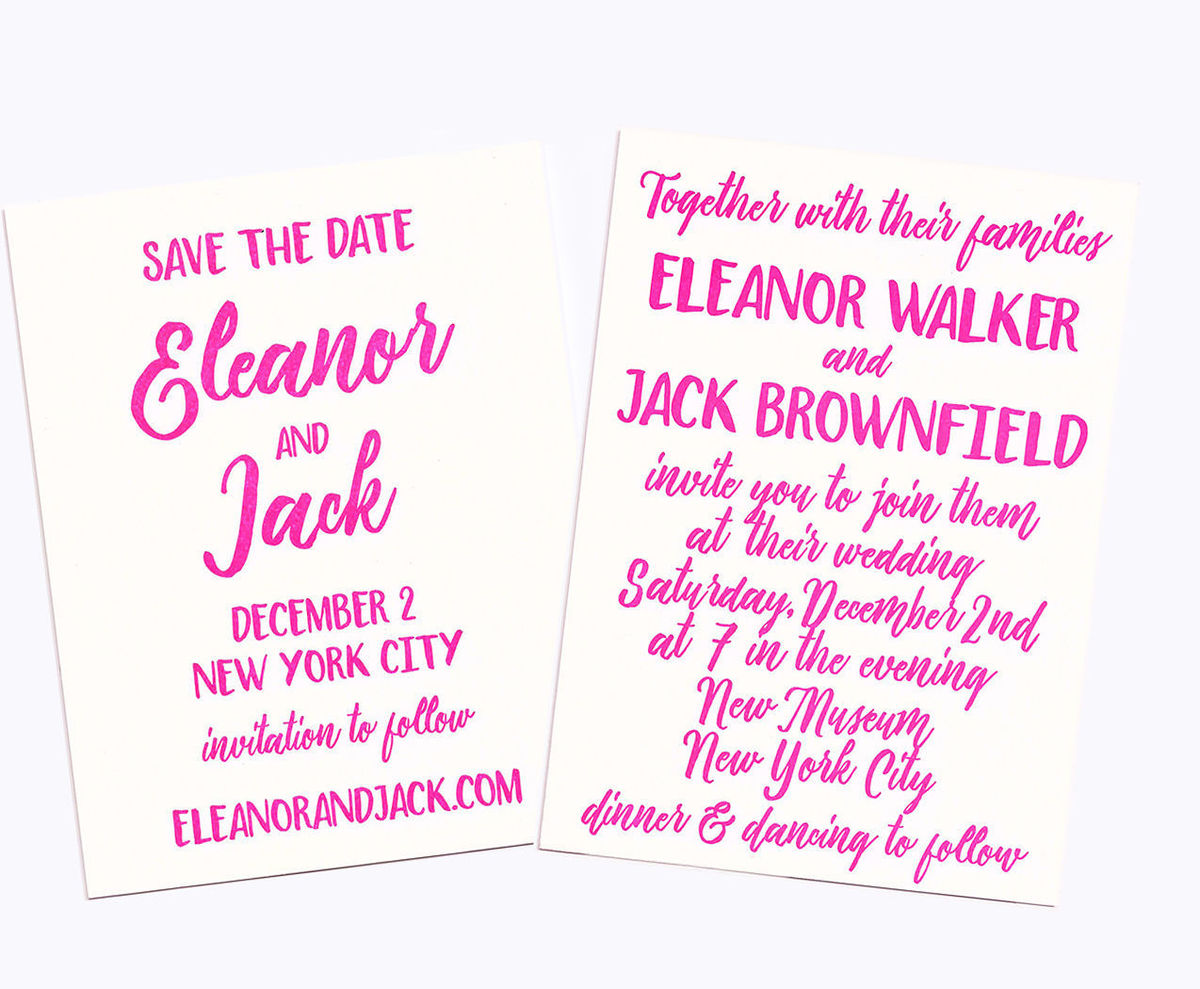 Greenwich Letterpress - Invitations - New York, NY - WeddingWire