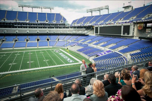 Aramark M Amp T Bank Stadium Baltimore Md Wedding Venue