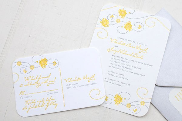 photo 15 of Ephemera - Letterpress Stationery, Calligraphy + More