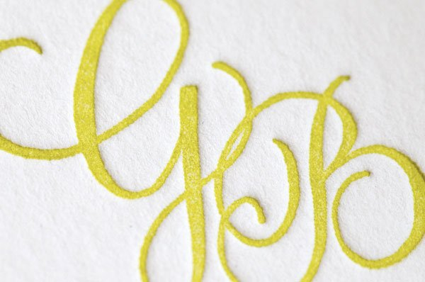 photo 20 of Ephemera - Letterpress Stationery, Calligraphy + More