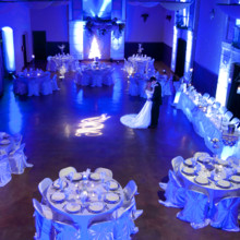 220x220 sq 1483469424536 1 ice blue lighting for a magnificent wedding wedd