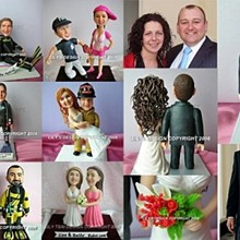 220x220 sq 1223738382914 personalized cake toppers lynne