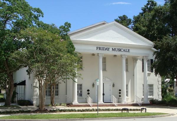 Friday Musicale Jacksonville Fl Wedding Venue