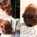 130x130 sq 1405562627098 los angeles pinup victory rolls vintage hair style