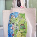 Destination wedding in Carmel, California organic tote bag