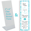 130x130 sq 1392192594854 custom place card insert and fram
