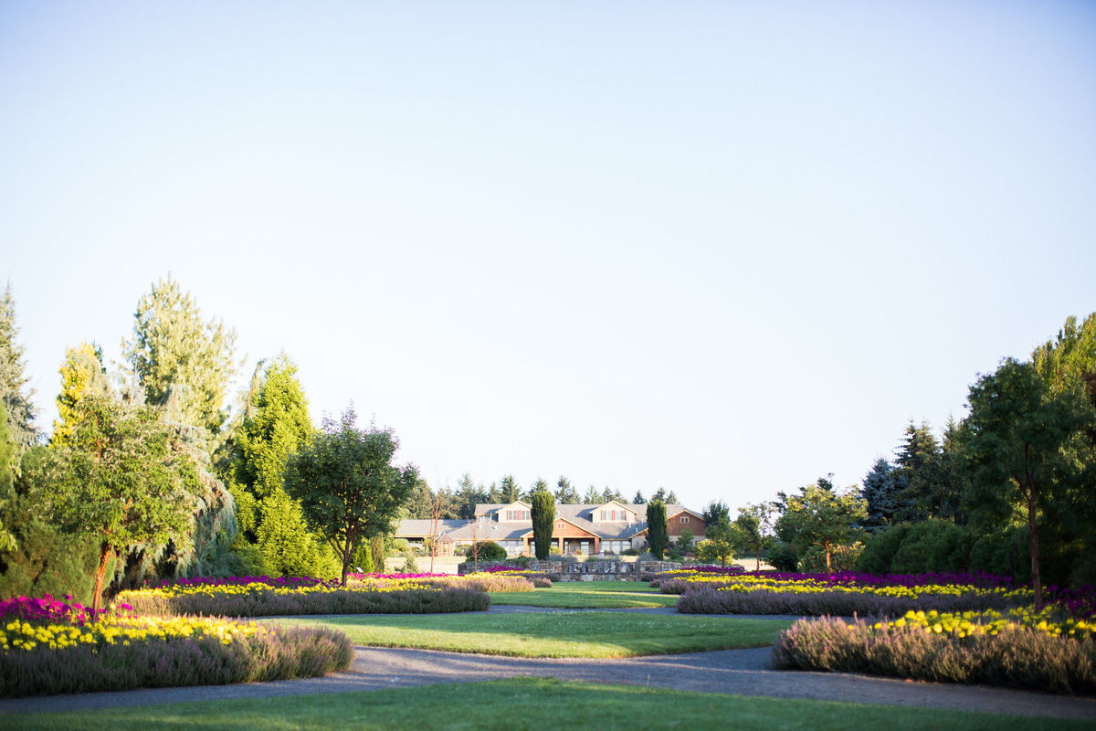 Oregon Garden Resort Venue Silverton Or Weddingwire