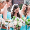130x130 sq 1456418349297 close up of bride with bridesmaids