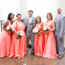 130x130 sq 1469465606758 groom with bridesmaids