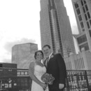 130x130 sq 1475072339434 bride and groom with building black and white
