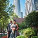 130x130 sq 1475243850291 bride and groom with skyscrapper