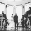 130x130 sq 1480696879164 wedding ceremony with chandelier black and white