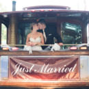 130x130 sq 1480696966890 just married back of trolley