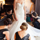130x130 sq 1480697012650 bride getting dress fixed by bridemaids