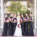 130x130 sq 1480697371102 bride with bridesmaids in front of purgala