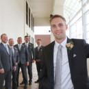 130x130 sq 1481034517659 groom with groomsmen behind him