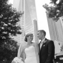 130x130 sq 1481034571060 bride and groom with skyscrapper black and white