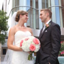 130x130 sq 1481034963628 bride and groom gazing in front of building