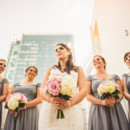 130x130 sq 1481903803316 bride with bridesmaids and skyscrappers