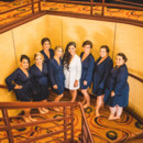 130x130 sq 1481909464001 bride with bridesmaids in stairs in spirit