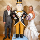130x130 sq 1483973064982 bride and groom with wake forest mascot