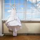 130x130 sq 1483973708199 wedding gown hanging on rooftop siena