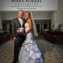 130x130 sq 1483973994574 bride and groom in front of wake forest