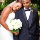 130x130 sq 1484148442278 bride with head on grooms shoulder