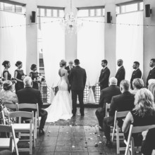 220x220 sq 1494436211488 wedding ceremony black and white