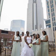 220x220 sq 1497290294542 bride with bridemaids
