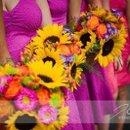 Colorful Fall Wedding with sunflowers & more!