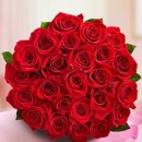 130x130 sq 1467066377162 red rose bridal bouquet