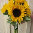 130x130 sq 1467066967255 sunflower bridal bouquet 225x300