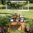 Venue: Mount Valley Farm  Floral Designer: Robin McCall  Rentals: Gibson's Rental