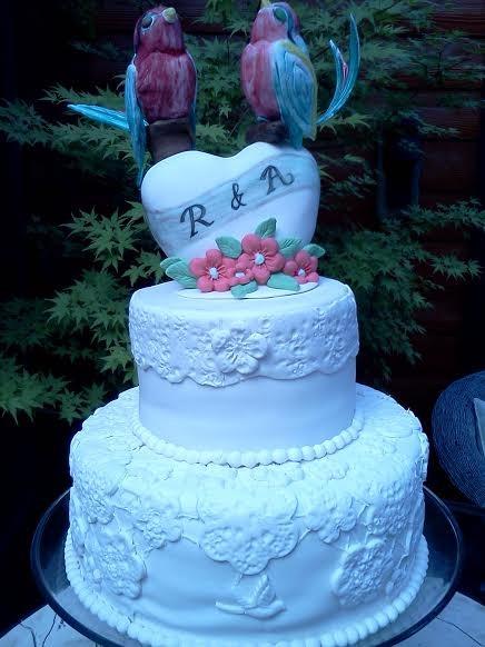 Leticias Confections Bay Area CA Wedding Cake