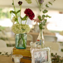 Venue: Bentonville Battlefield  Event Planner: Lisa Tart  Floral Designer: Dutch Iris Florals  Rentals: Table Toppers