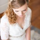 Dress Designer:Allure BridalsfromWeddings by Paulette  Hair Stylist: Caitlin Matthews ofAmerican Mortals  Makeup Artist: Sarah Wren