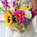 Dress Store:Ellie's Bridal Boutique  Floral Designer:B Floral and Event Design by Shelly Bagdasian