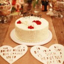Photo: Christian and Reinna Cruz of Max and Friends  Venue: Casa Cody  Caterer/Cake: Heirloom LA