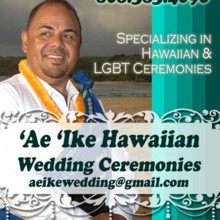 `Ae`Ike Hawaiian Wedding Officiant Services