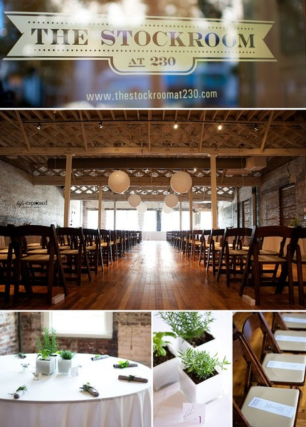 The Stockroom At 230 Raleigh Nc Wedding Venue