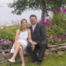 Marty and Lisa were married at Burnt Island Lighthouse at Boothbay Harbor, Maine.