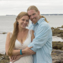 Ashley and Thomas were married at the Wilson Memorial Chapel in East Boothbay, Maine, with incredible views of the ocean and surrounding islands.