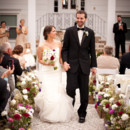 Venue: The Island House  Dress Designer: Marisa Bridals from Brides Against Breast Cancer  Groom and Groomsmen Attire: Men's Wearhouse  Floral Designer: Local Roots Florist