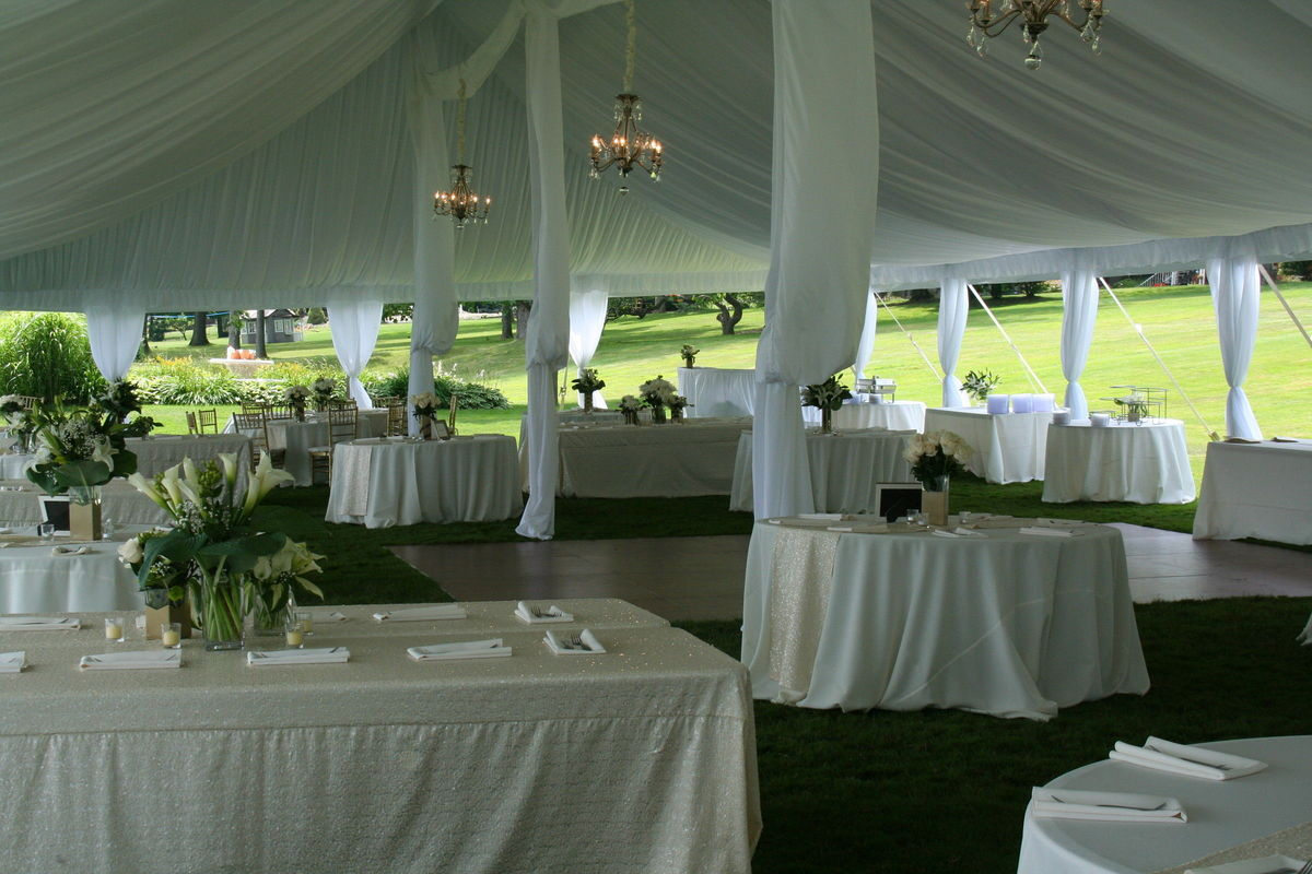 Michigan wedding rentals reviews for 207 rentals wahl tents junglespirit Images