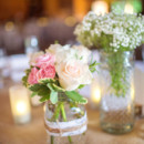 Venue/Caterer: Angus Barn Pavilion  Event Planner: Ashley Whittington  Floral Designer: Tre Bella, Inc.