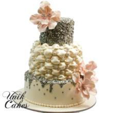 220x220 sq 1412612402372 marina and dimas wedding cake