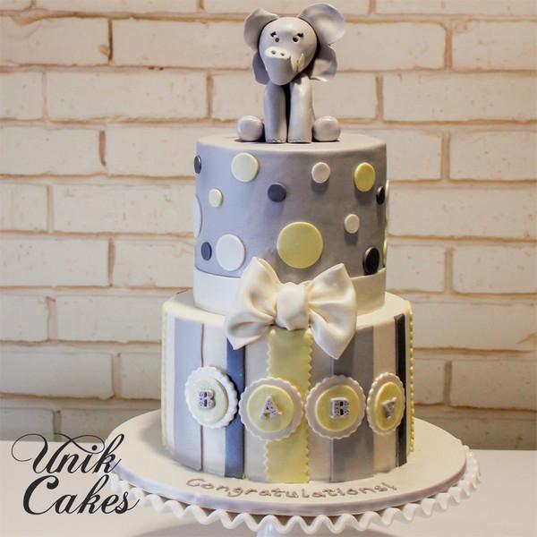 600x600 1414180810480 elephant baby shower cake