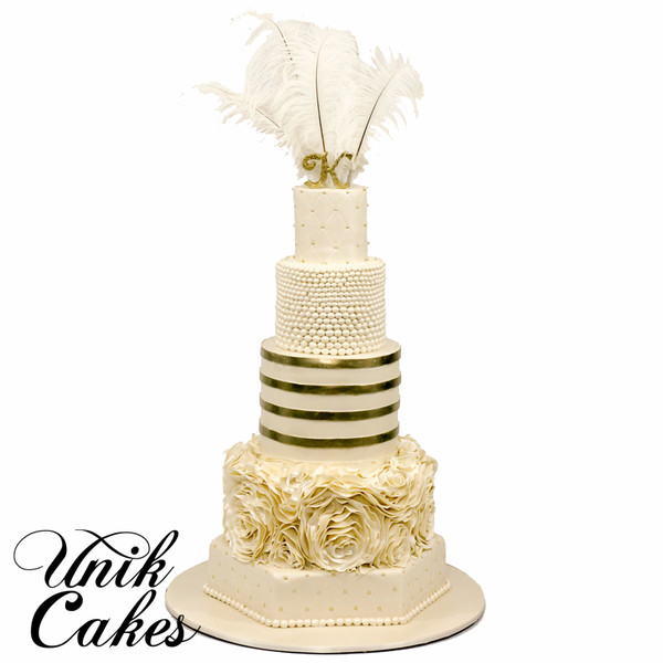 600x600 1418925050235 great gatsby themed wedding cake