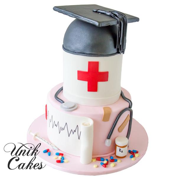 600x600 1432746666548 nurse graduation cake